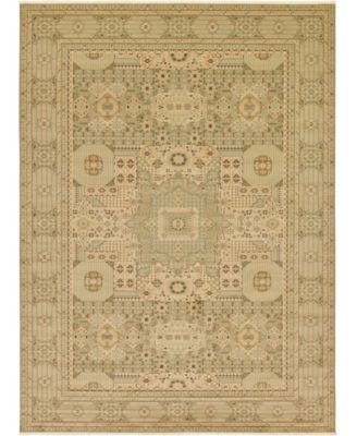 Wilder Wld1 Light Green 5' x 8' Area Rug