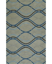 D Style Luka Luk43 Steel Area Rugs Collection