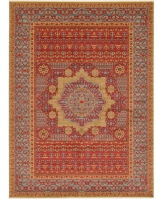 Wilder Wld4 Red 8' x 11' Area Rug