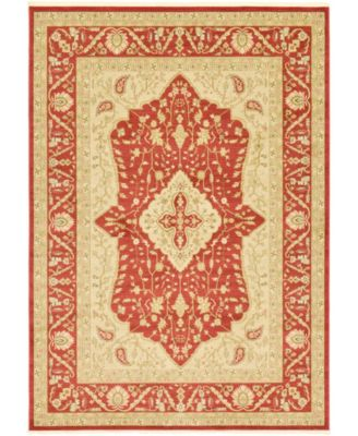 Orwyn Orw7 Red 8' x 11' Area Rug