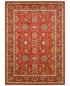 Orwyn Orw1 Red Area Rug Collection