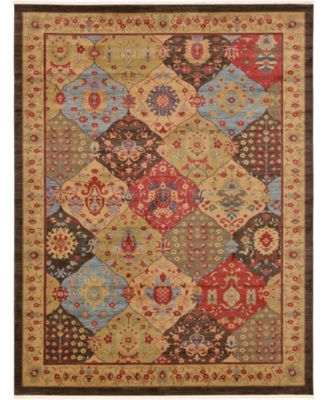 Orwyn Orw1 Multi 10' x 10' Square Area Rug