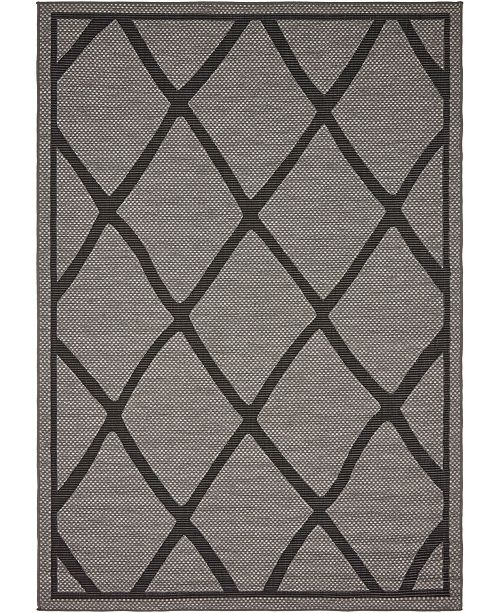 Bridgeport Home Pashio Pas7 Gray Area Rug Collection