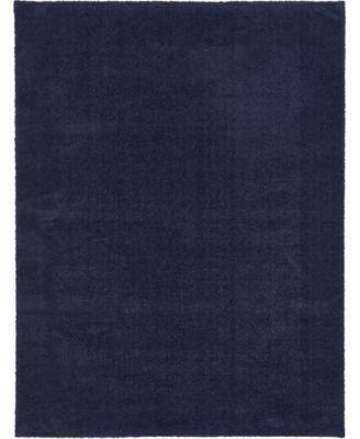 Salon Solid Shag Sss1 Midnight Blue 2' 7
