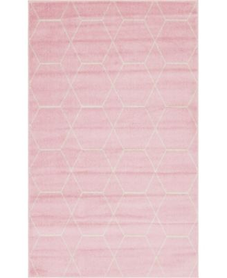 Plexity Plx1 Pink 9' x 12' Area Rug
