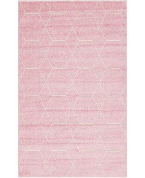 Bridgeport Home Plexity Plx1 Pink Area Rug Collection