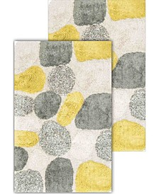Pebbles 2 Piece Bath Rug Set