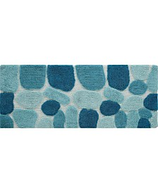 Chesapeake Pebbles Plush Bath Runner
