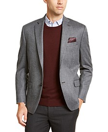 Men's Classic-Fit Herringbone Sport Coat
