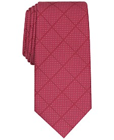 Alfani Men's Windowpane Tie, Created for Macy's
