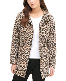 Women's Printed Cotton Hooded Jacket