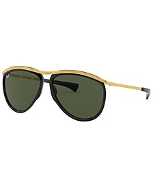 OLYMPIAN AVIATOR Sunglasses, RB2219 59