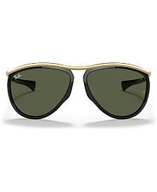 Ray-Ban OLYMPIAN AVIATOR Sunglasses, RB2219 59
