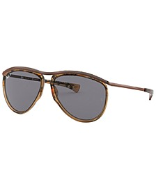 OLYMPIAN AVIATOR Polarized Sunglasses, RB2219 59