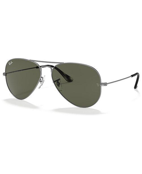 Ray-Ban AVIATOR LARGE METAL Sunglasses, RB3025 58