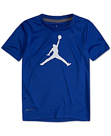 Big Boys Jumpman Logo-Print T-Shirt