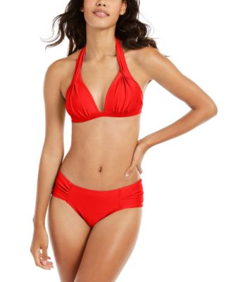 Boardwalk Basics Halter Bikini Top