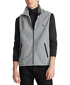 Men's Fleece Mockneck Vest