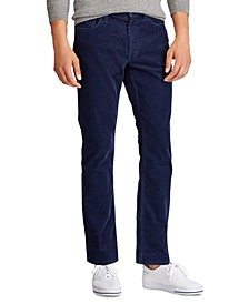Men's Big & Tall Stretch-Cord Five-Pocket Pants