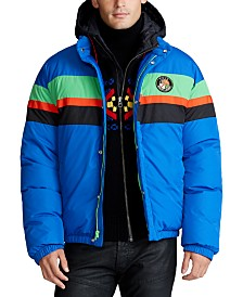 Polo Ralph Lauren Men's Striped Down Jacket