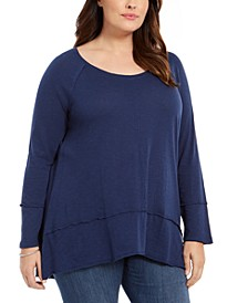 Plus Size Seamed Tunic, Created For Macy's