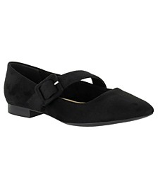 Virginia II Mary Jane Flats