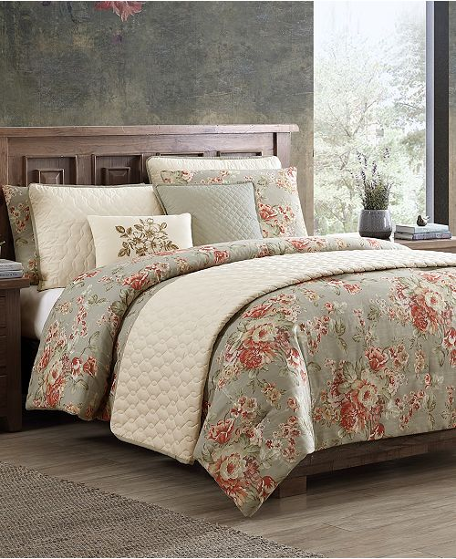 Hallmart Collectibles Nicas 8-Pc. King Comforter and Quilt Set