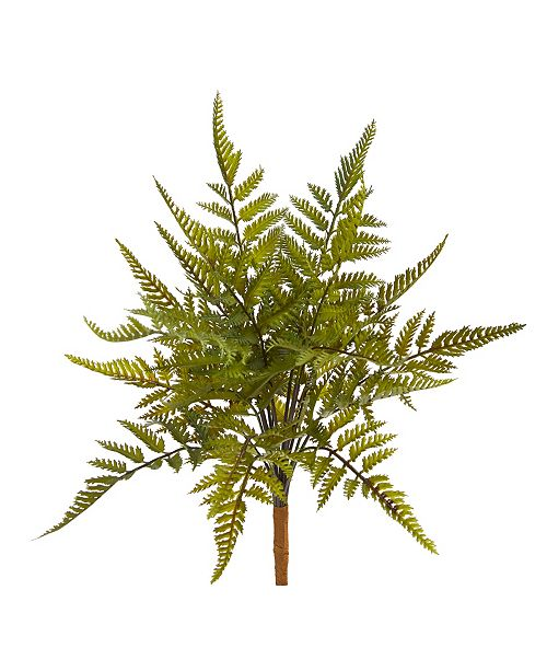 "Nearly Natural 6"" Fern Artificial Plant, Set of 6"
