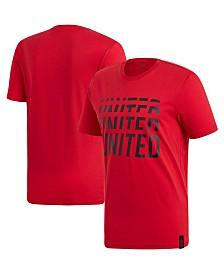 adidas Men's Manchester United Club Team DNA T-Shirt