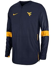 Men's West Virginia Mountaineers Lightweight Coaches Jacket