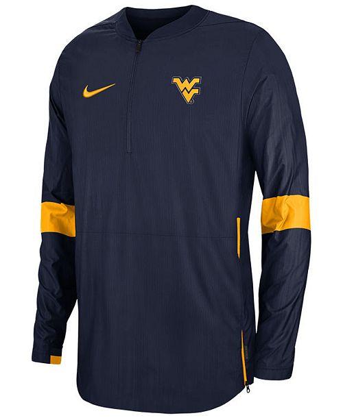 Nike Men's West Virginia Mountaineers Lightweight Coaches Jacket