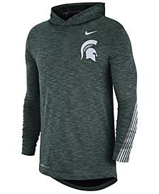 Men's Michigan State Spartans Hooded Sideline Long Sleeve T-Shirt