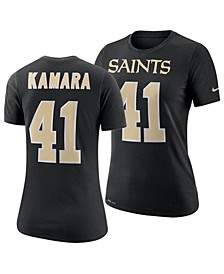 Women's Alvin Kamara New Orleans Saints Player Pride T-Shirt