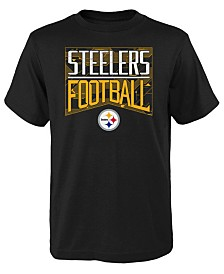 Outerstuff Big Boys Pittsburgh Steelers Energy T-Shirt