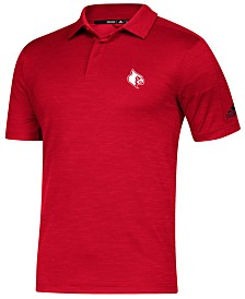 adidas Men's Louisville Cardinals Game Day Polo