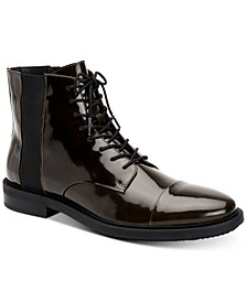 Men's Cronus Patent Leather Boots