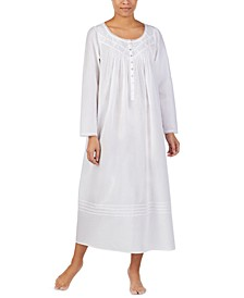 Cotton Pintuck Ballet Nightgown