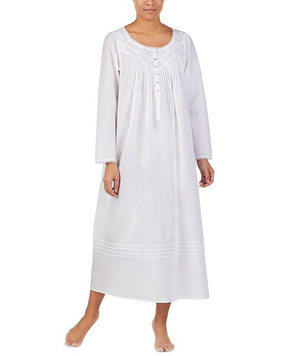 Eileen West Cotton Pintuck Ballet Nightgown