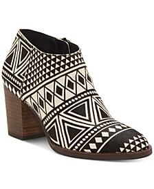 Pamira Block-Heel Booties