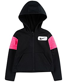 Little Girls Therma Fleece Zip-Up Hoodie