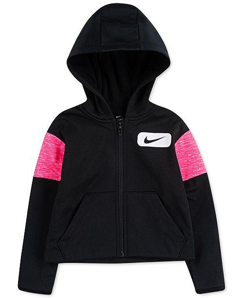 Nike Toddler Girls Therma Fleece Zip-Up Hoodie