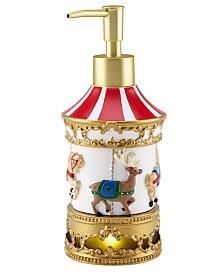 Mr. Christmas Carousel Light-Up/Music Lotion Pump