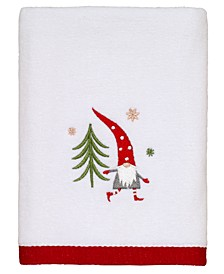 Gnome Walk Hand Towel