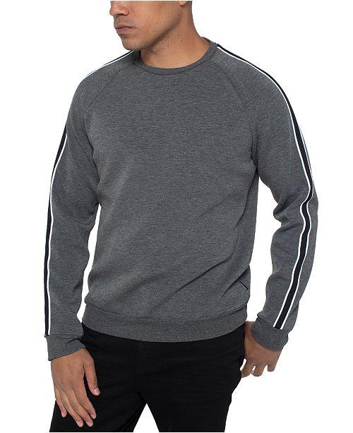 Kenneth Cole Men's Varsity-Stripe Sweatshirt