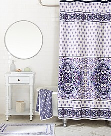"Regal Rosette 72"" x 72"" Shower Curtain"
