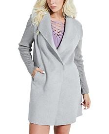 GUESS Shawl-Collar Walker Coat