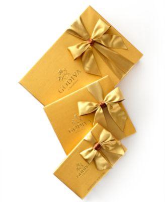 Chocolatier, 19-Pc. Gold Bow Ballotin Box of Chocolates
