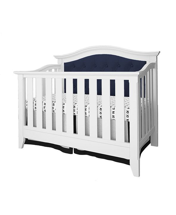 Belle Isle Furniture Belle Isle Magnolia 4-In-1 Convertible Upholstered Crib