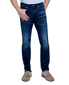 Seven7 Jeans Men's Tapered Athletic Slim Fit Cut 5 Pocket Jean