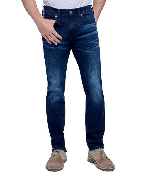 Seven7 Jeans Men's Tapered Athletic Slim Fit Cut 5 Pocket Jean